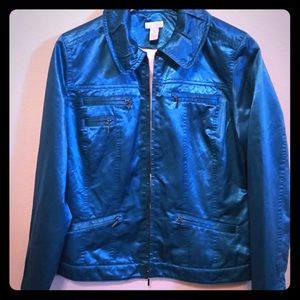 Chico's Electric Blue Jacket